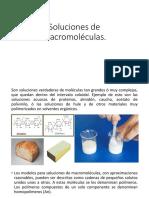 Soluciones de Macromoleculas