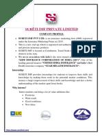 Company Profile & Internship Details