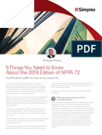 NFPA 72 - Rodger Reiswig - White Paper