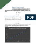 Algebra de Número Complejos