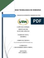 Analisis de Codigos de Etica Hondureños