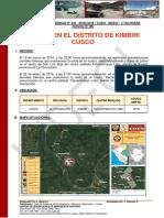 Informe de Emergencia Nº 333 20mar2019 Huaico en El Distrito de Kimbiri Cusco 09