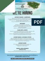 Job Ad - 07 Nov2019