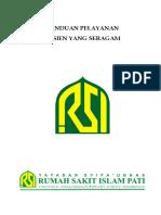 PANDUAN PELAYANAN PASIEN YANG SERAGAM.doc
