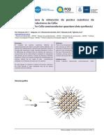Obtencion de punos cuanticos de cristales semiconductores