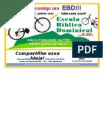EBD 2019 - Divulgação