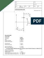 Calculationb Sheeet z Section