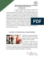 elementos básicos para el desarrollo de la condición física