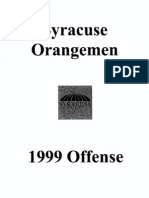 1999 Syracuse University Freeze Option - 192 Pages