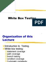 2. Lect 27 to 28 White Box Testing