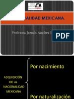 !!!!!Nacionalidad Mexicana