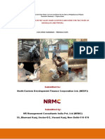 71B- Study of Due Diligence in the Value Chain-livestock, Honey for the State of Tripura.