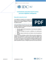 Conclusiones IDC Auraportal