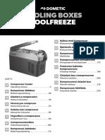 Glaciere Domotec CDF11 Operating manual
