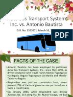 Auto Bus Transport System Inc vs. Antonio Bautista
