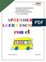 Fichas Para Aprender a Leer y Escribir Con El ABCD