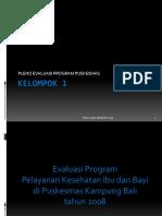 28384851 Evaluasi Program Puskesmas