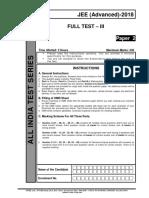 Aits 1718 Ft III Jeea Paper 2