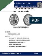 Plan Exportador Sal de Maras