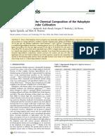 caratterizzazione Salicornia bigelovii