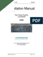 FPRB Installation Manual Rev AL
