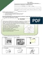 Ev. Diagnostica de Lenguaje y Comunicacion