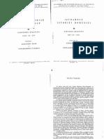 24053825 Fontes Istoriae Daco Romanae Izvoarele Istoriei Romaniei Vol III