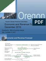 Oregon Economic Forecast