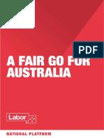 2018 Alp National Platform Constitution