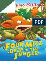 G. Stilton Four Mice Deep in the Jungle (Newer)