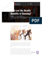 What Are the Health Benefits of Dancing