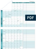 IC Event Planning Templates Calendar of Events Template