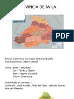 Provincia de Avila