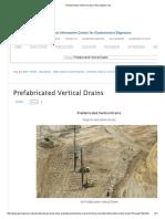 Prefabricated Vertical Drains _ Geoengineer