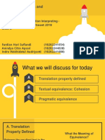 Textual Pragmatic and Equivalence Ppt