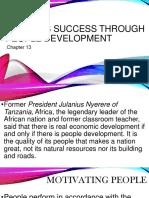 13 Business Success Through People Development