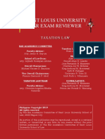 2019 Taxation Law Reviewer