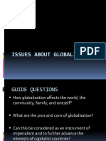 Issues About Globalisation