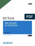 AUDISON BitTune Pro License Activation ENG RevA(1)