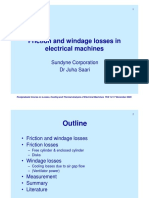 Friction Windage Losses