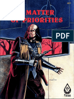FASA 2211 - Star Trek - A Matter of Priorities