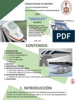Maglev Exposicion Geologia 1