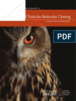 Reagents and Tools for Molecular Cloning