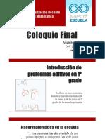 Análisis de una secuencia didáctica de matemática