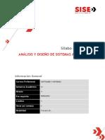 5362 - Ciclo IV - Análisis y Diseño de Sistemas Avanzado