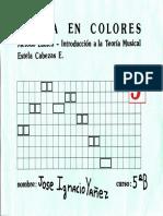 Pre Kinder - Musica en Colores Cuatro