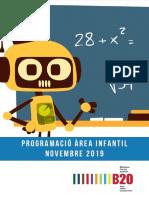 Programacio infantil novembre