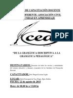 DE LA GRAMATICA DESCRIPTIVA A LA GRAMATICA PEDAGOGICA.docx