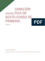 Programación Didáctica 6º 2019-20