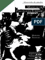 Manual de Psicología Forense - TRAVACIO, M